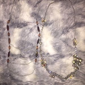 💍NEW💍 Two Dressy Necklaces